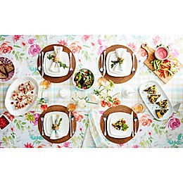 Mixed Prints Spring Table