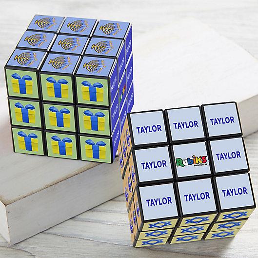 Alternate image 1 for Hanukkah Icon Personalized Rubik's® Cube