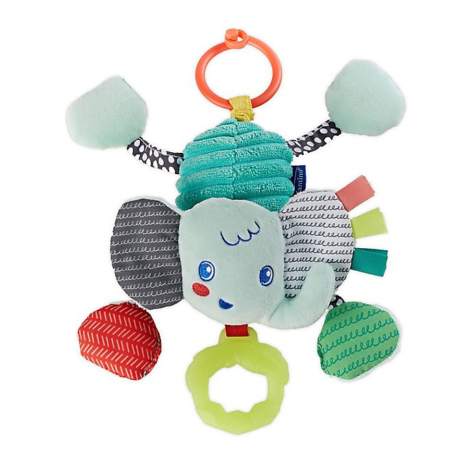 Alternate image 1 for infantino™ Pull & Shake Elephant Jittery Pal