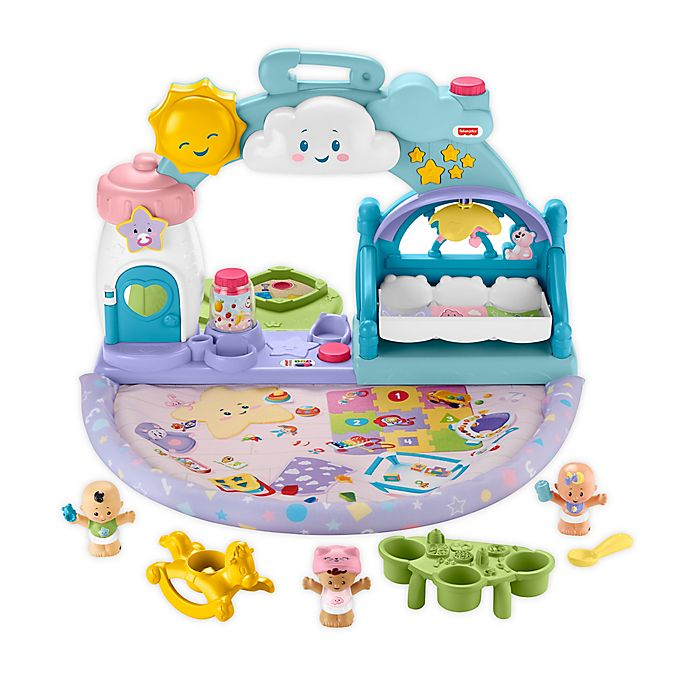 Alternate image 1 for Fisher-Price® Little People® 1-2-3 Babies Playdate Set