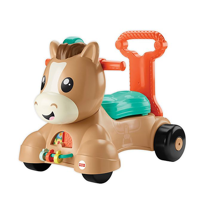 Alternate image 1 for Fisher-Price® 3-in-1 Walk Bounce and Ride Pony