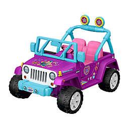 Fisher-Price® Power Wheels® JoJo Siwa™ Jeep® Wrangler