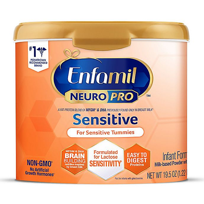 Alternate image 1 for Enfamil NeuroPro™ 19.5oz Sensitive Non-GMO Infant Formula Powder