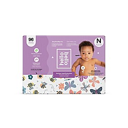 Hello Bello® Bees/Butterflies Disposable Diapers in Purple