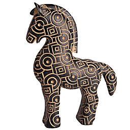 Home Essentials & Beyond 11.5-Inch Pattern Horse Figurine in Brown