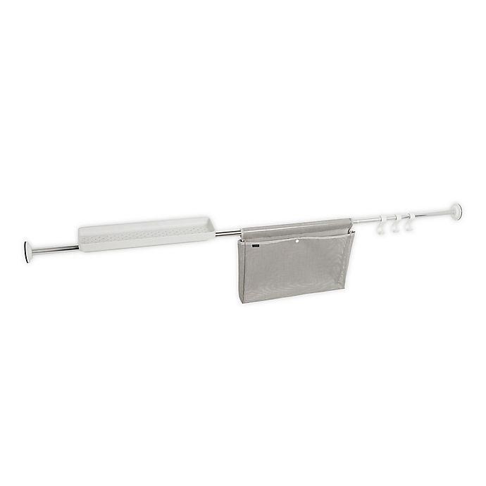 Alternate image 1 for Umbra® Sure-Lock Tension Mount Storage Rod in Chrome
