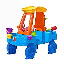 Step2® Car Wash Splash Activity Center in Blue/Orange