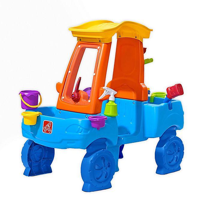 Alternate image 1 for Step2® Car Wash Splash Activity Center in Blue/Orange