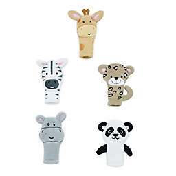 Capelli New York 5-Piece Exotic Animal Finger Puppet Set