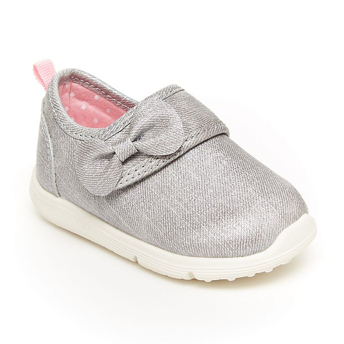 Alternate image 1 for carter's® Turbo Sneaker in Grey