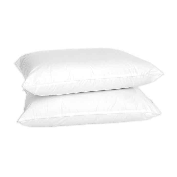 Alternate image 1 for 4-Earth™ 2-Pack Eco-Friendly Organic Cotton Bed Pillows
