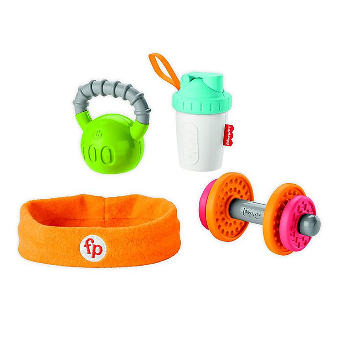 Alternate image 1 for Fisher-Price® Baby Biceps™ 4-Piece Gift Set