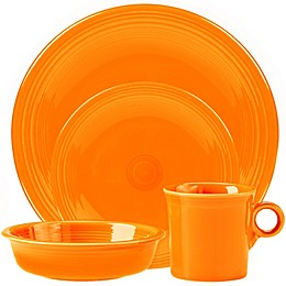 Fiesta® 4-Piece Place Setting in Butterscotch