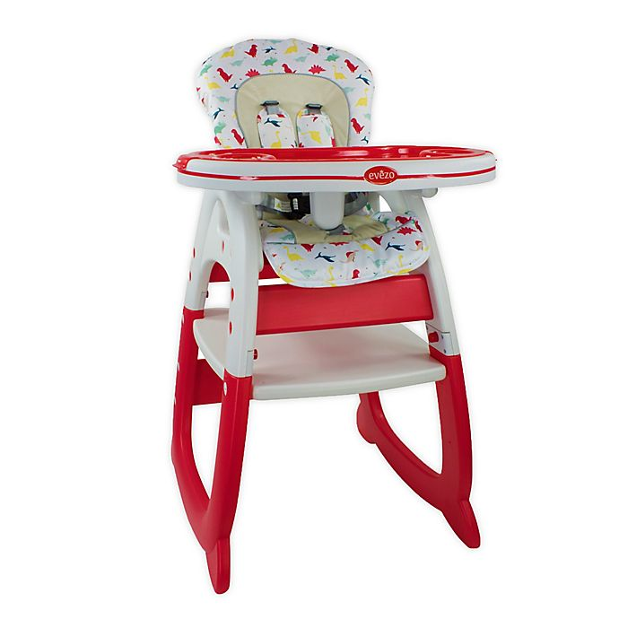 Alternate image 1 for Evezo® Merly Convertible High Chair and Play Table