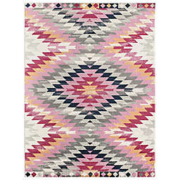Cosmo Living© Cypress Paola Rug in Pink/Ivory