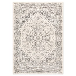 Surya Chester Traditional Oriental Area Rug in Light Grey