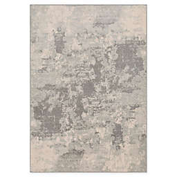 Surya Chester Modern Abstract 6'7 x 9' Area Rug in Grey