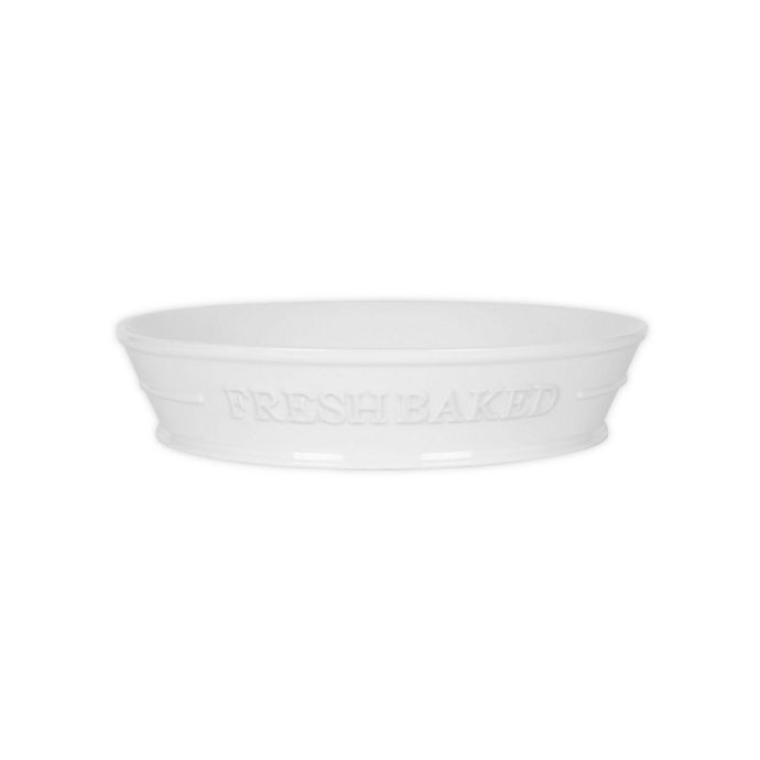 Alternate image 1 for Everyday White® by Fitz and Floyd® Bistro Fresh Baked 9-Inch Pie Plate in White