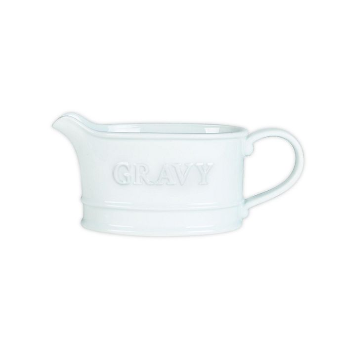 Alternate image 1 for Everyday White® by Fitz and Floyd® Bistro 22 oz. Gravy Boat