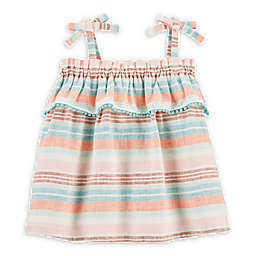 OshKosh B'gosh® Stripe Faux Tie Summer Dress