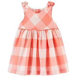 OshKosh B'gosh® Gingham Dress in Coral
