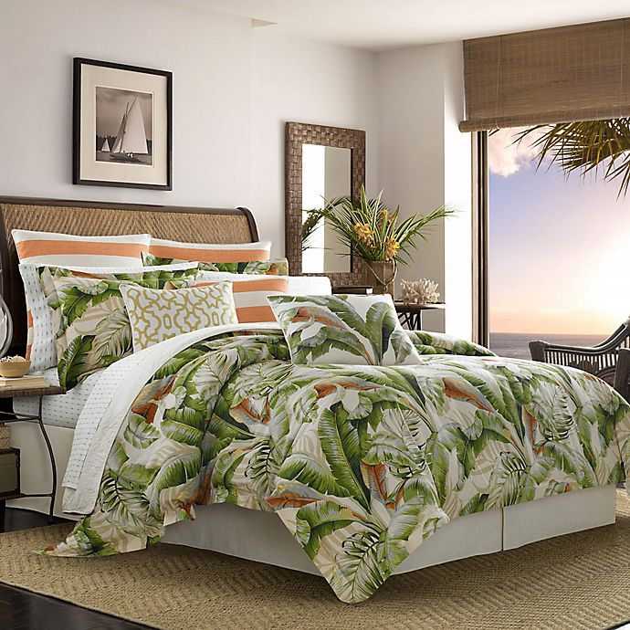 Alternate image 1 for Tommy Bahama® Palmiers Duvet Cover Set in Green