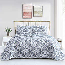 VCNY Home Mauer Matelasse Medallion 3-Piece Quilt Set