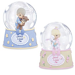 Precious Moments® Jesus Loves Me Musical Water Globe