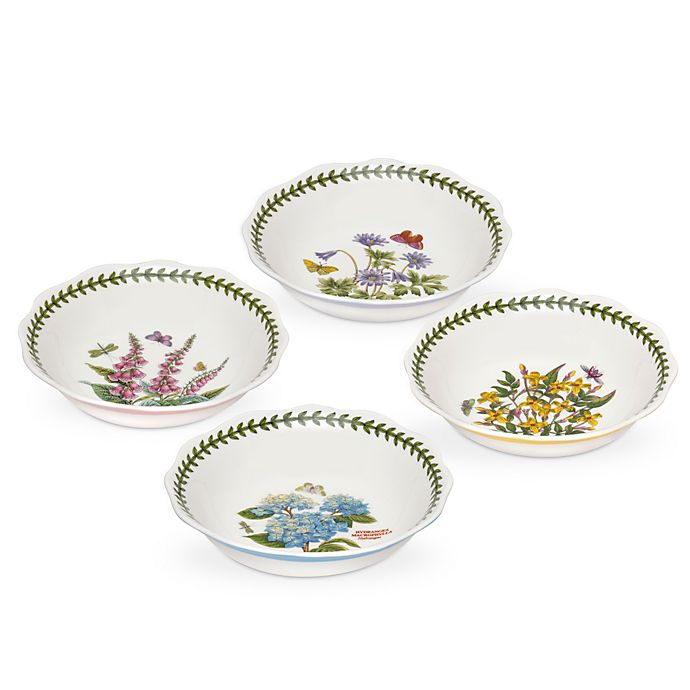 Alternate image 1 for Portmeirion Botanic Garden Terrace Bowls (Set of 4)
