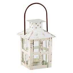 Kate Aspen® Small Vintage Distressed Lantern in White