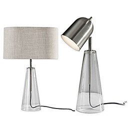ADESSO® Ainsley Lighting Collection in Brushed Steel