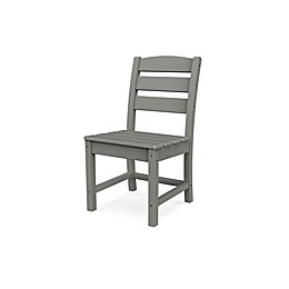 POLYWOOD® Lakeside All-Weather Patio Dining Chair in Slate Grey