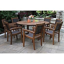 Outdoor Interiors® Eucalyptus & Sling Patio Furniture Collection