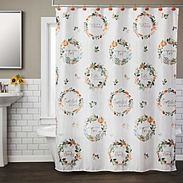 Nature's Harvest Shower Curtain Collection