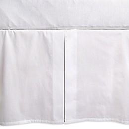 Burt's Bees Baby® Organic Cotton Woven Crib Skirt in Cloud