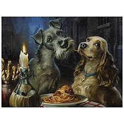 Disney Fine Art Bella Notte Wrapped Canvas Wall Art