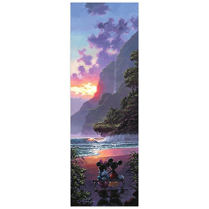 Alternate image 1 for Disney Fine Art Majestic Island Wrapped Canvas Wall Art