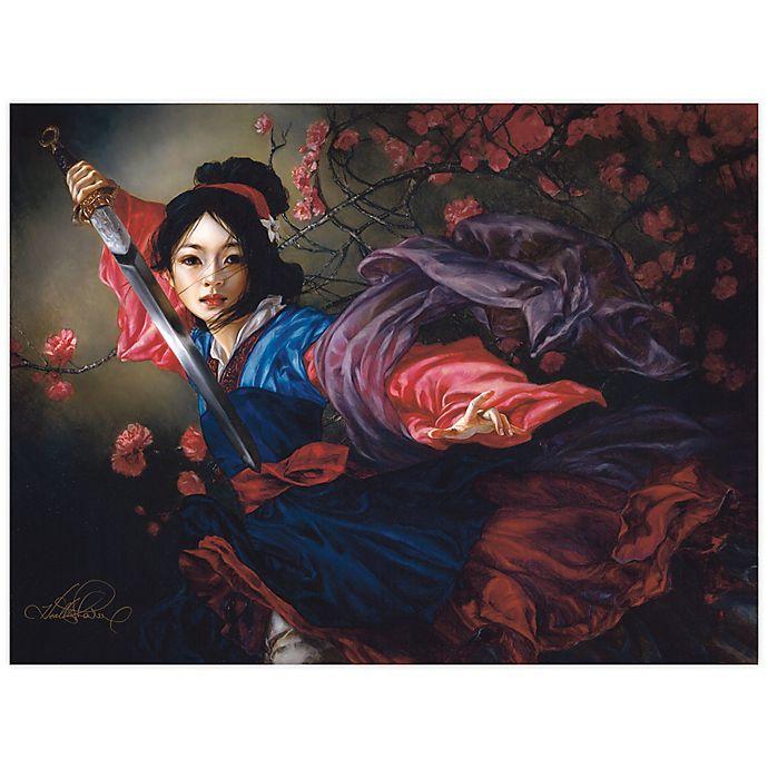 Alternate image 1 for Disney Fine Art The Elegant Warrior Wrapped Canvas Wall Art