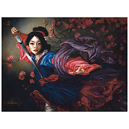 Disney Fine Art The Elegant Warrior Wrapped Canvas Wall Art