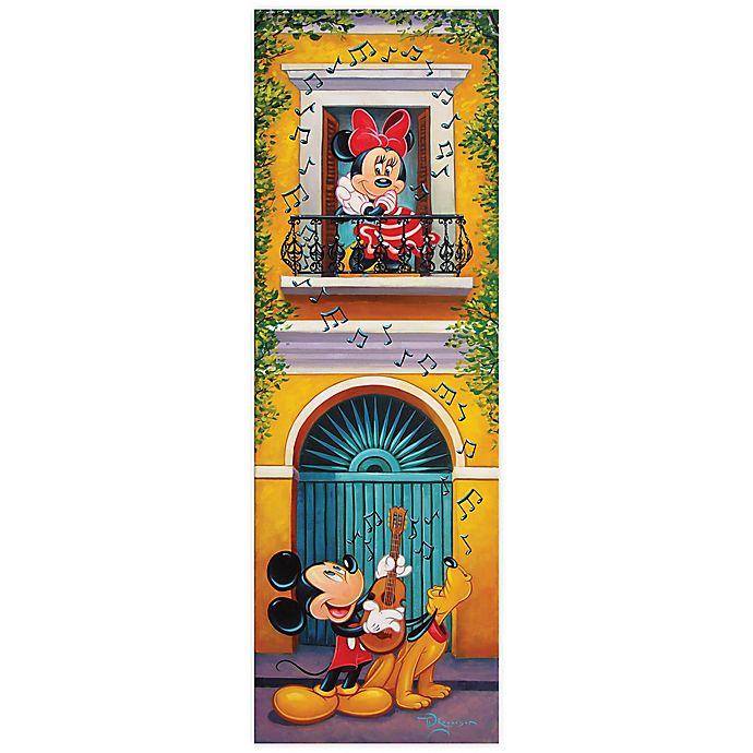 Alternate image 1 for Disney Fine Art Balcony Serenade Wrapped Canvas Wall Art