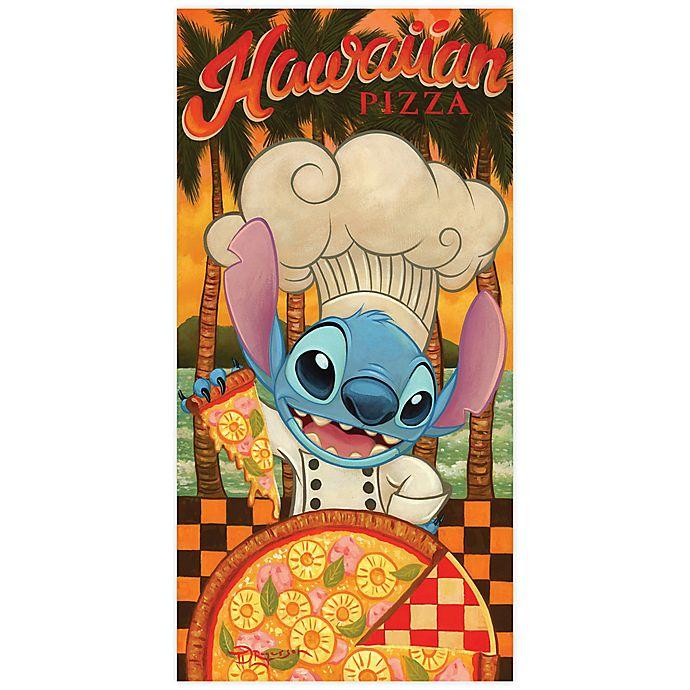 Alternate image 1 for Disney Fine Art Hawaiian Pizza Wrapped Canvas Wall Art