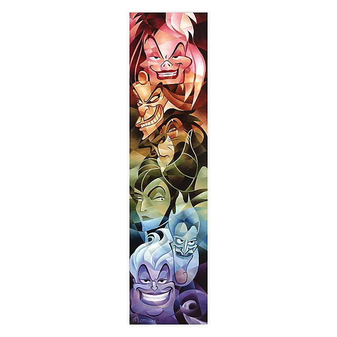 Alternate image 1 for Disney Fine Art Colors of Evil Wrapped Canvas Wall Art
