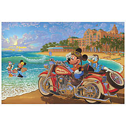 Disney Fine Art Where the Road Meets the Sea Wrapped Canvas Wall Art