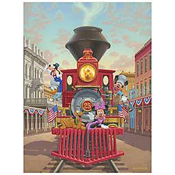 Disney Fine Art All Aboard Engine 25 Wrapped Canvas Wall Art