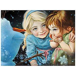 Disney Fine Art Never Let It Go Wrapped Canvas Wall Art