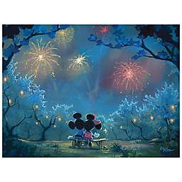 Disney Fine Art Memories of Summer Wrapped Canvas Wall Art