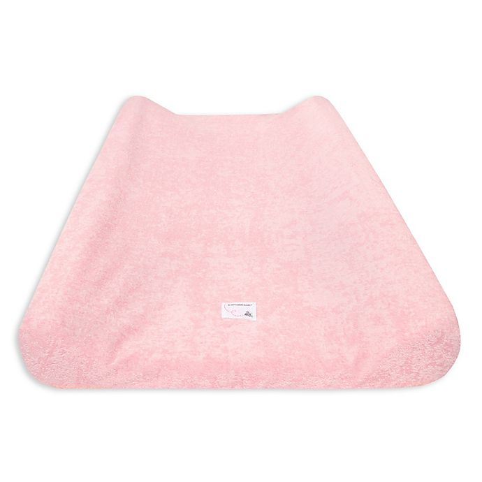 Alternate image 1 for Burt's Bees Baby® Organic Cotton Knit Terry Changing Pad Cover in Blossom