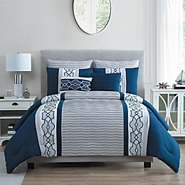 VCNY Home Darryl 7-Piece Comforter Set