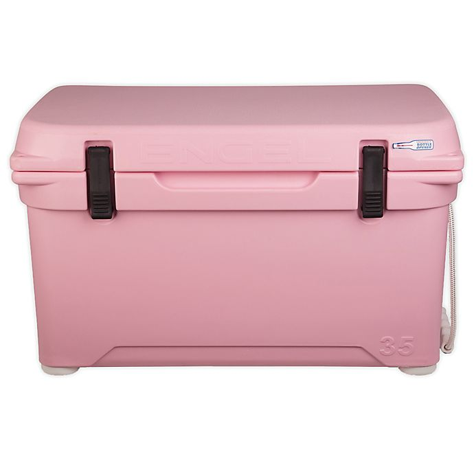 Alternate image 1 for ENGLE® High-Performance 35 Qt. Hard Cooler and Ice Box in Pink