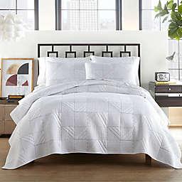 City Scene® Leo Quilt Set in White